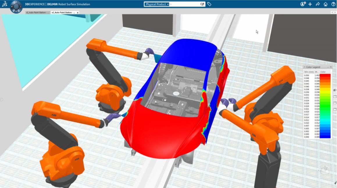 Robotics surface