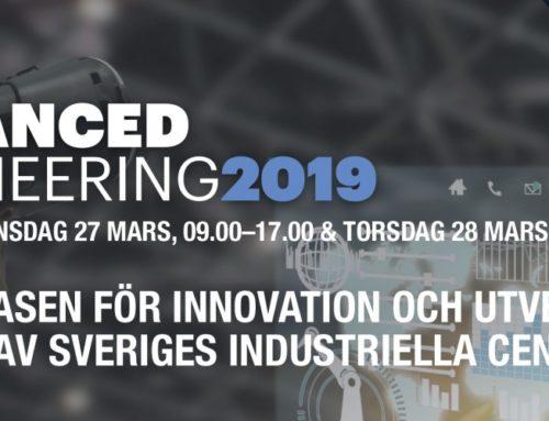 Meet Us at Advanced Engineering Exhibition in Göteborg.