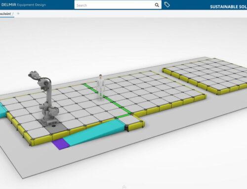 Prodtex unveil modular flooring solution